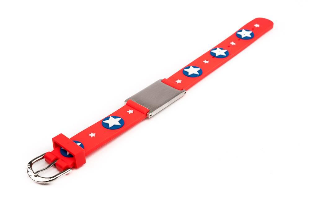 ID armband kind rood sterren