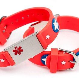 Allergy alert bracelet kids