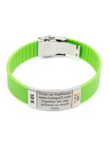 Goede doelen badges armband