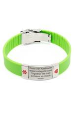 Safety ID bracelet Green