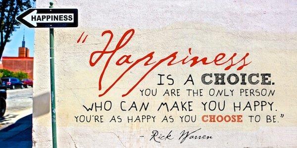 Happiness swap