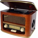 Roadstar HRA-1500MP Retro radio met MP-3 en CD-speler