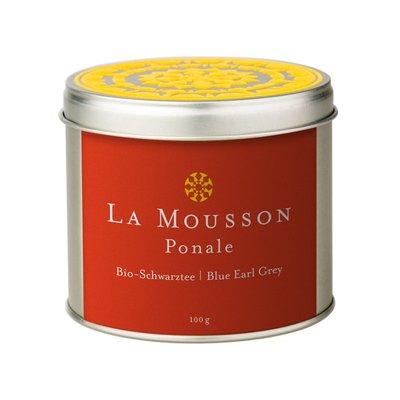 La Mousson BIO-SCHWARZTEE Ponale Blue Earl Grey