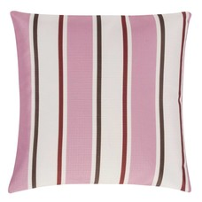 Pad Concept OUTDOOR KISSEN gestreift - pink 45x45 cm
