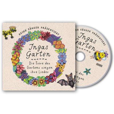 KINDERLIEDER-CD Ingas Garten - die Tiere des Gartens singen ihre Lieder