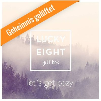 GESCHENKBOX November 2016 - LET´S GET COZY