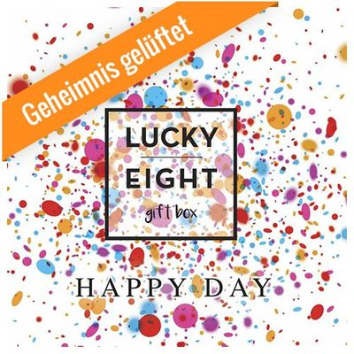 GESCHENKBOX Juni 2016 - HAPPY DAY