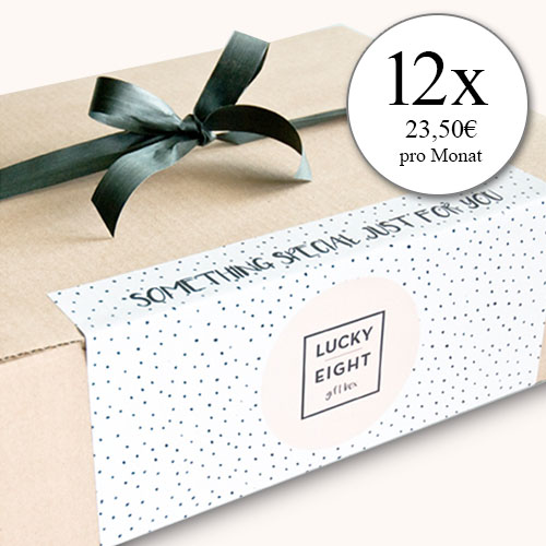 Lucky Eight Abo Box 12 Monate