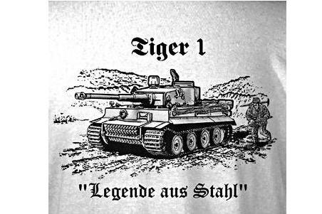 tiger panzer t shirt guntia militaria outdoor survival. Black Bedroom Furniture Sets. Home Design Ideas