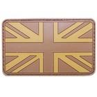 MFH 3D Klettabzeichen Großbritannien, desert