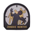 MFH 3D Klettabzeichen, Zombie Hunter