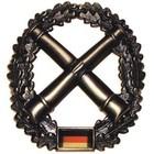 MFH BW Barettabzeichen, Artillerie, Metall