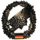 MFH BW Barettabzeichen, Fallschirmjäger, Metall
