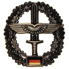 MFH BW Barettabzeichen, Heeresflieger, Metall