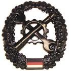MFH BW Barettabzeichen, Instandsetzung, Metall
