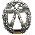 MFH BW Barettabzeichen Luftwaffensicherung, Metall