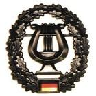 MFH BW Barettabzeichen, Musikkorps, Metall