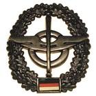 MFH BW Barettabzeichen, Nachschub, Metall