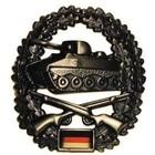 MFH BW Barettabzeichen, Panzergrenadier, Metall