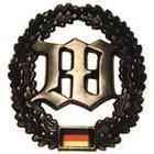 MFH BW Barettabzeichen, Wachbatallion, Metall