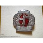 Original Militär NVA Abzeichen Wehrerziehung, silber