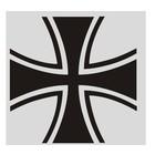 Guntia Militaria Aufkleber Kreuz 2
