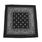 MFH Bandana, black-white