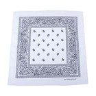 MFH Bandana, white black