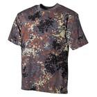 MFH BW T-Shirt, half-arm, bw camo