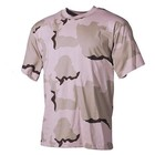 MFH US T-Shirt, half arm, 3 colors desert