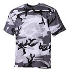MFH US camouflage T-Shirt, half arm, urban