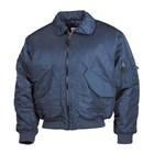 MFH CWU pilot jacket, navy blue