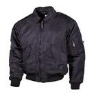 MFH CWU pilot jacket, black