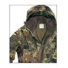 Original Militär BW Field jacket / parka, with lining, BW camo, original