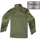 TacGear TacGear Combat Shirt, dansk camo M84