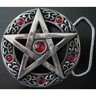 Anderswelt Import Gürtelschnalle Pentagramm