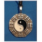 Anderswelt Import Amulett Yin Yang mit I Ging