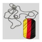 Guntia Militaria Dog Tag Deutschland, Erkennungsmarke