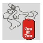 Guntia Militaria identification tag, dog tag, Treue um Treue II