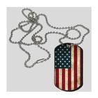 Guntia Militaria Dog Tag USA, Erkennungsmarke