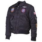 MFH US child pilot jacket, CWU, black