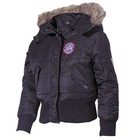 MFH US Kids Polar Jacket, N2B, black
