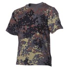 MFH Kids T-Shirts, BW camo, short sleeves
