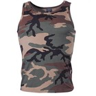 MFH US camouflage tank Top, woodland