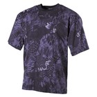 MFH US T-Shirt, halbarm, snake black