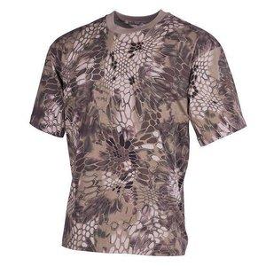 MFH US T-Shirt, halbarm, snake FG