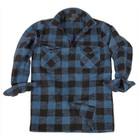Mil-Tec Holzfällerhemd, schwarz-blau
