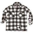 Mil-Tec lumberjack shirt, black-white
