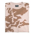 Mil-Tec Camo T-shirt, british DPM desert