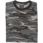 Mil-Tec Camo T-shirt, dark Camo